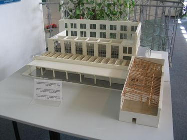 The building of Škoda Museum was the factory itself. This is a model.