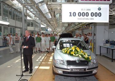 10 million car since 1905, 2.0 PD-TDI (source: �koda Auto)