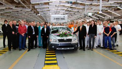 2.000.000 Octavia since 1996, Scout 2.0 PD-TDI (source: �koda Auto)