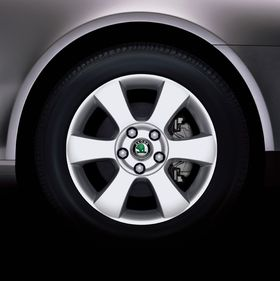 Lyra alloy wheel (source: Škoda Auto)