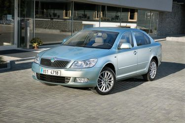 Facelifted Octavia (source: �koda Auto)