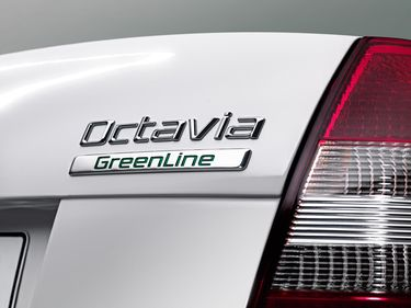 Octavia GreenLine logo (source: �koda Auto)