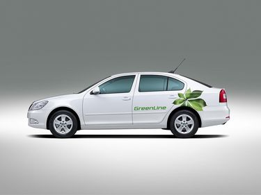 Octavia GreenLine 1.6 CR TDI (source: �koda Auto)