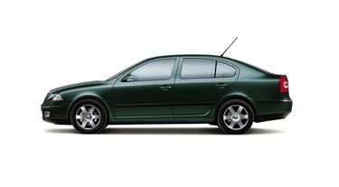 Highland green metallic colour from MY2006 (source: �koda Auto)