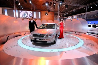 Octavia Ming Rui introduction at Beijing Motor Show 2006 (source: �koda Auto)